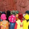 Cho trẻ-4-5 tuổi tham quan và viếng hương nghĩa trang liệt sĩ xã Đại Chánh